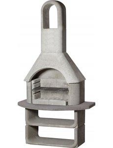 Buschbeck Capri Tuinhaard beton | 110x65x(H)206cm