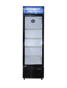 Gastro-Cool Display koelkast met lichtbak DC280 | 229 Liter | B53xD56.5xH185 cm.