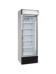 Diamond Display koeling met glasdeur en lichtbak 500 liter | 680x655xH2090mm.