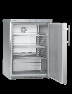 Liebherr Koelkast met dichte deur tafelmodel RVS 134 liter |  600x615xH830mm.