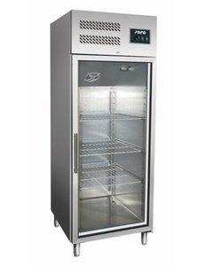 Saro Display koelkast met glazen deur 537 Liter | GN 600 TNG |  B680 x D810 x H2000 mm