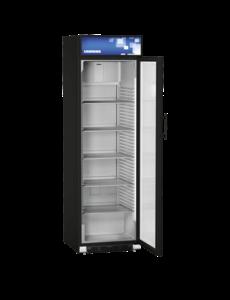 Liebherr Display koelkast met glazen deur blackline 412 Liter | +2°C tot +12°C |  60x69xH121.5 cm.