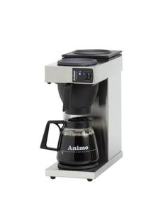 Animo Excelso koffiezetapparaat met glazen kan van 1.8 liter