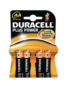 Duracell AA batterijen | Lange levensduur | Per 4 stuks