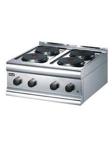 Lincat Lincat Silverlink 600 HT6 4-pits elektrische kookplaat