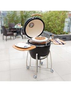 Buffalo Keramische kamado barbecue | Rooster Ø485mm | Opwarmtijd: 20 minuten