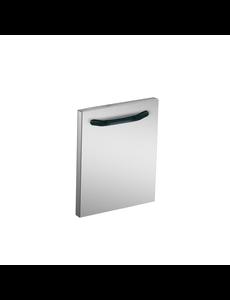 Gastro-Inox 700 HP deur 40cm, voor 40/80cm brede onderkasten