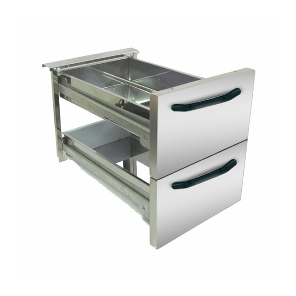 Gastro-Inox 700 HP ladeset 40cm, voor 40/80cm onderkasten