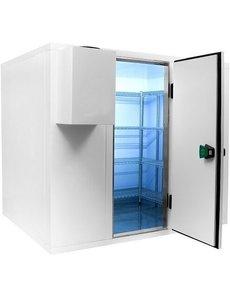Combisteel Koelcel / Vriescel zonder motor 1800x1800mm   Inhoud 5.5m3   Dagmaat deur 700x1845mm.