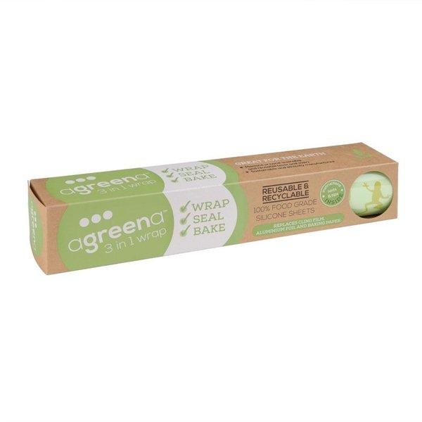 Agreena Agreena 3-in-1 herbruikbare folie 200x200mm (2x) en 300x300mm (2x)