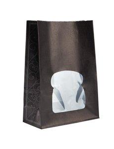 Colpac Colpac papieren sandwichboxen met venster recyclebaar zwart (250 stuks)