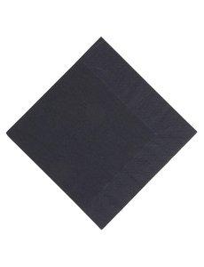 Duni Duni lunchservetten composteerbaar zwart 33cm (1000 stuks)