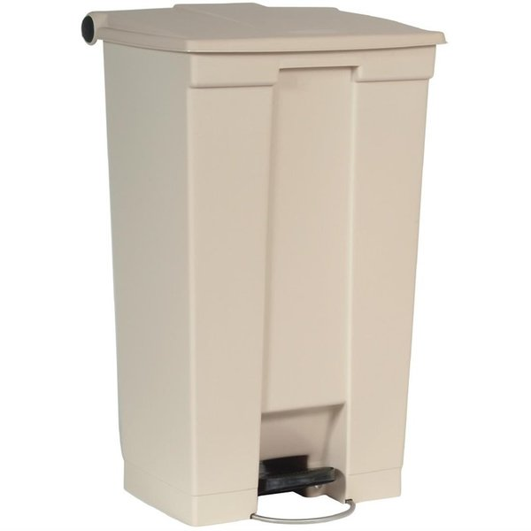 Rubbermaid Afvalcontainer beige 87L