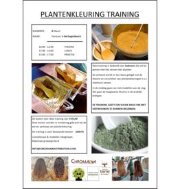Green Hair Distribution Plantenkleuring Training 8-3-2021 DEN BOSCH
