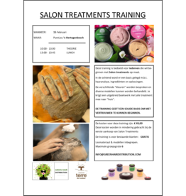 Green Hair Distribution Salon Treatment Training 15-2-2021 DEN BOSCH