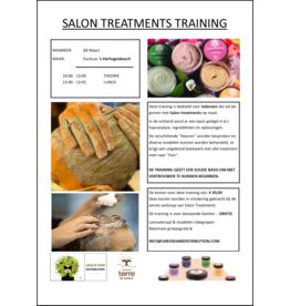 Green Hair Distribution Salon Treatment Training 22-3-2021 DEN BOSCH