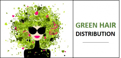 Green Hair Distribution
