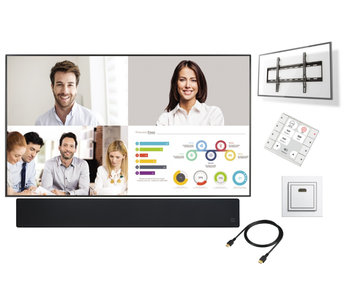 "Presentatiesysteem LED monitor 98"" Deluxe"