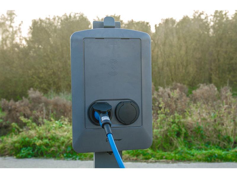 Greenflux Smart Charger met twee laadpunten