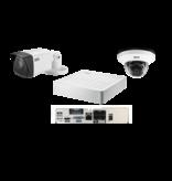 Idis Basic camerasysteem 1x binnen dome camera, 1x buiten camera en 4ch recorder
