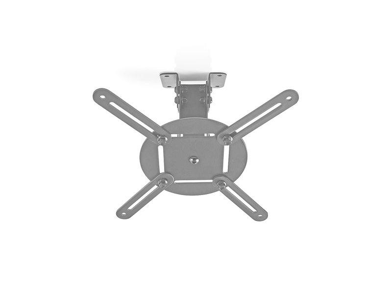BB Systems Plafondbeugel Beamer 360° Draaibaar Afstand 130 mm Zilver / Zwart
