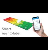 Opple Duurzame Smart Starter verlichting Kit type A 4st LED Panels 60x60cm, Smart Sensor en de Smart Switch