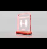 Aura Aware Aura Aware slimme afstandsmeter - Mahogany Gold
