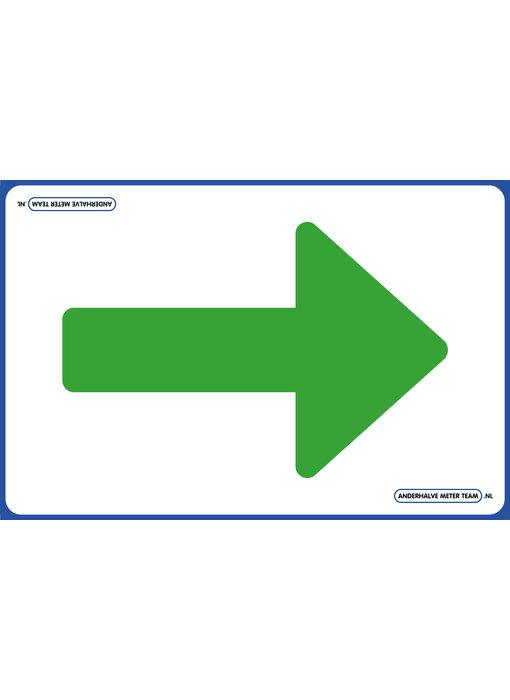 AMT Vloerplaat - Eenrichtingspijl  75 x 50