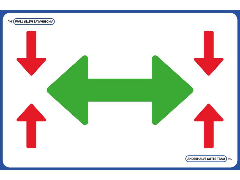 AMT AMT Vloerplaat - Looproute Pijler 75 x 50