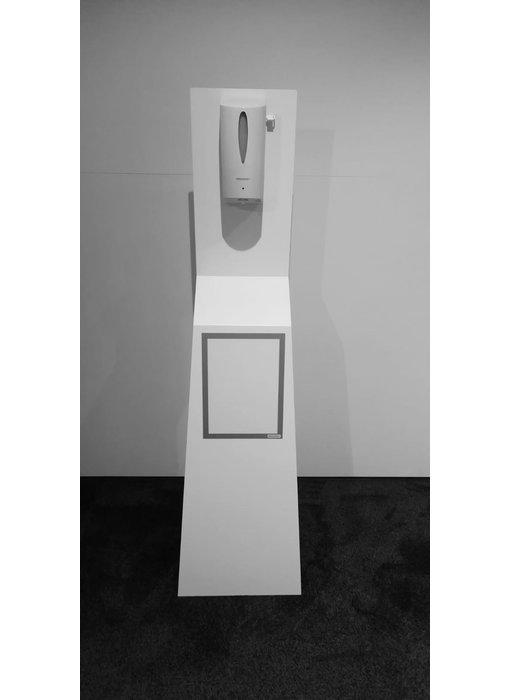 AMT automatische design desinfectiezuil