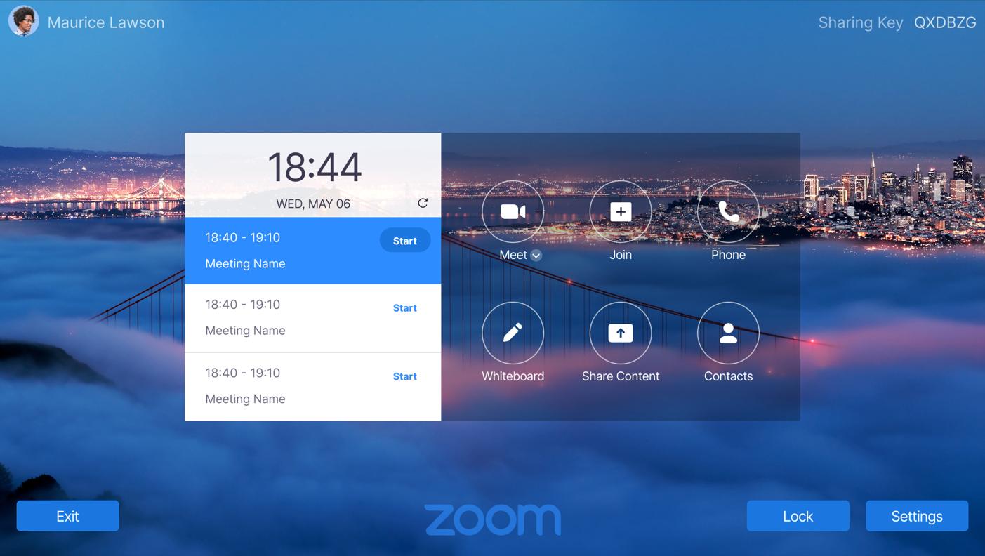 ThinkSmart View voor Zoom Rooms