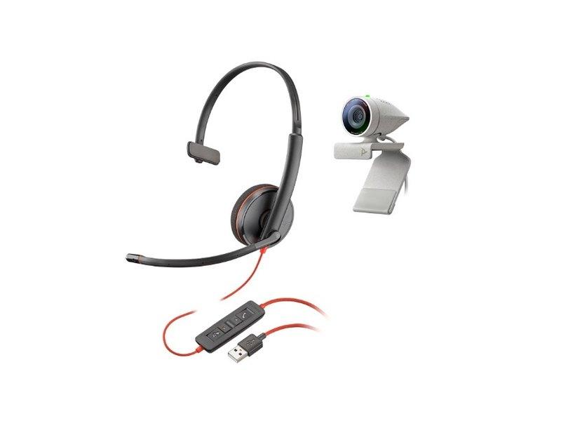 Poly Poly Studio P5 kit met Blackwire 3210