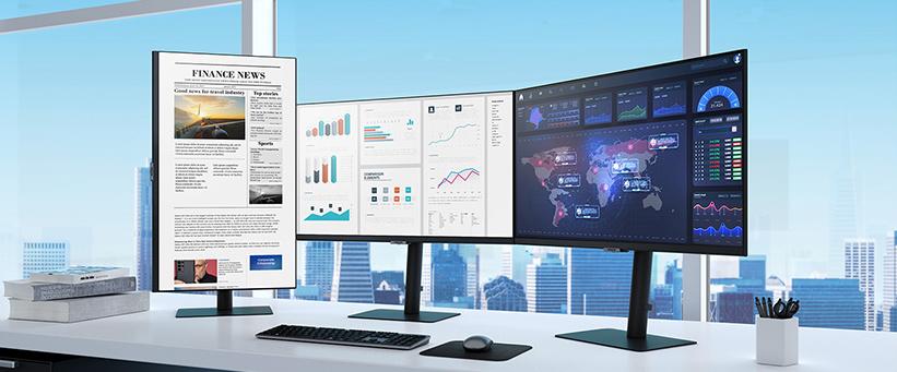 Samsung lanceert nieuwe serie hoge resolutie-monitoren