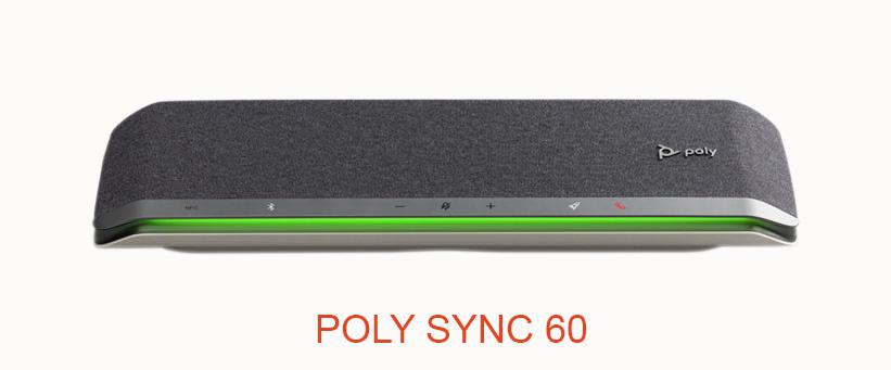 Vanaf nu verkrijgbaar in Nederland: Poly Sync 60