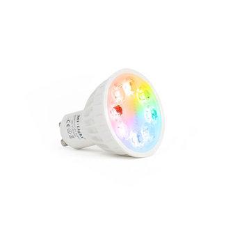 GU10 LED-spotti 4W RGB+CCT himmennettävä