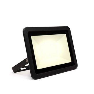 LED-valonheitin 100W 4000K luonnonvalkoinen IP65 musta