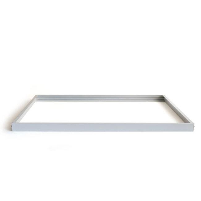 LED-paneelin kiinnityskehys 60x120 hopea
