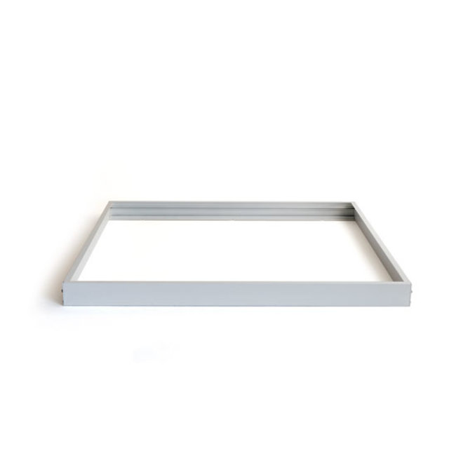 LED-paneelin kiinnityskehys 30x60 hopea