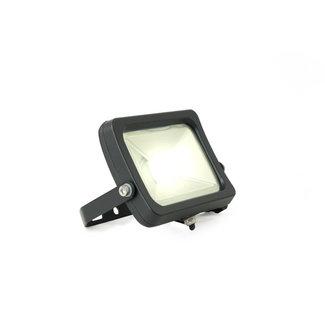 LED-valonheitin 10W 4000K luonnonvalkoinen IP65 musta