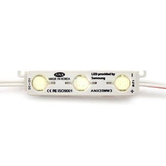 LED-moduuli 4000K luonnonvalkoinen 3x5630 SMD 12V (50 kpl)