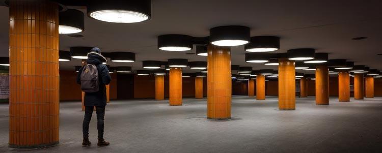 LED-valoilla valaiset tehokkaasti ajo- ja kulkuväylät.
