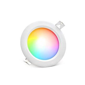Mi-Light LED-alasvalo RGB+CCT 6W Ø108 mm pyöreä IP54