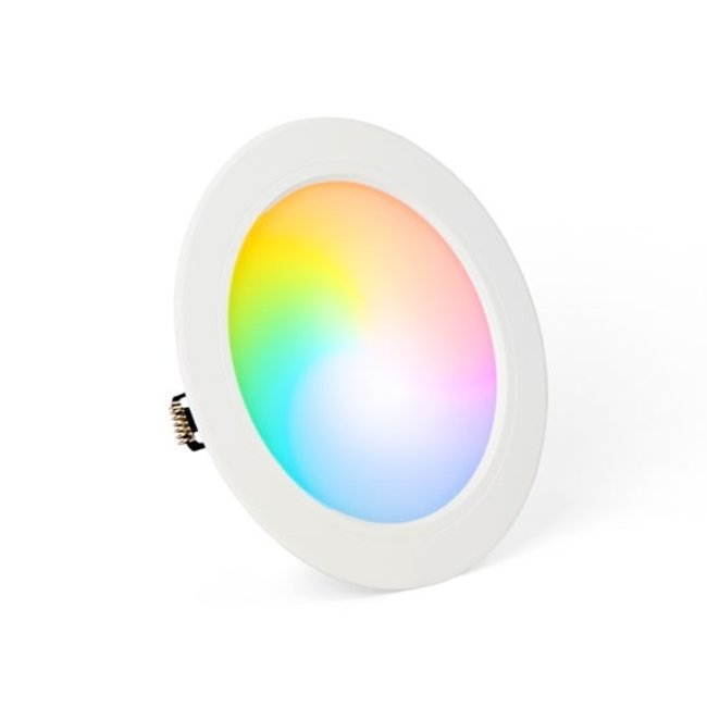 Mi-Light LED-alasvalo RGB+CCT 12W Ø170 mm pyöreä IP44