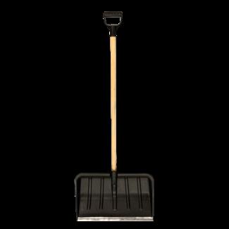 Talen Tools Sneeuwschuif kunststof zwart  50cm met steel