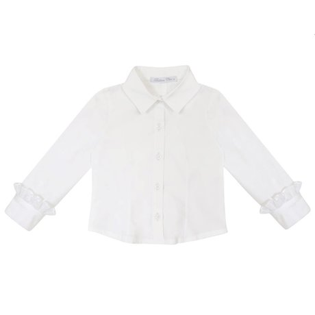 Balloon Chic Blouse with ruffled sleeves