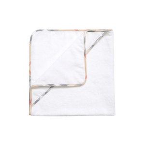 Towel with washcloth