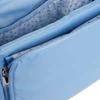 Changing bag with changing mat light blue