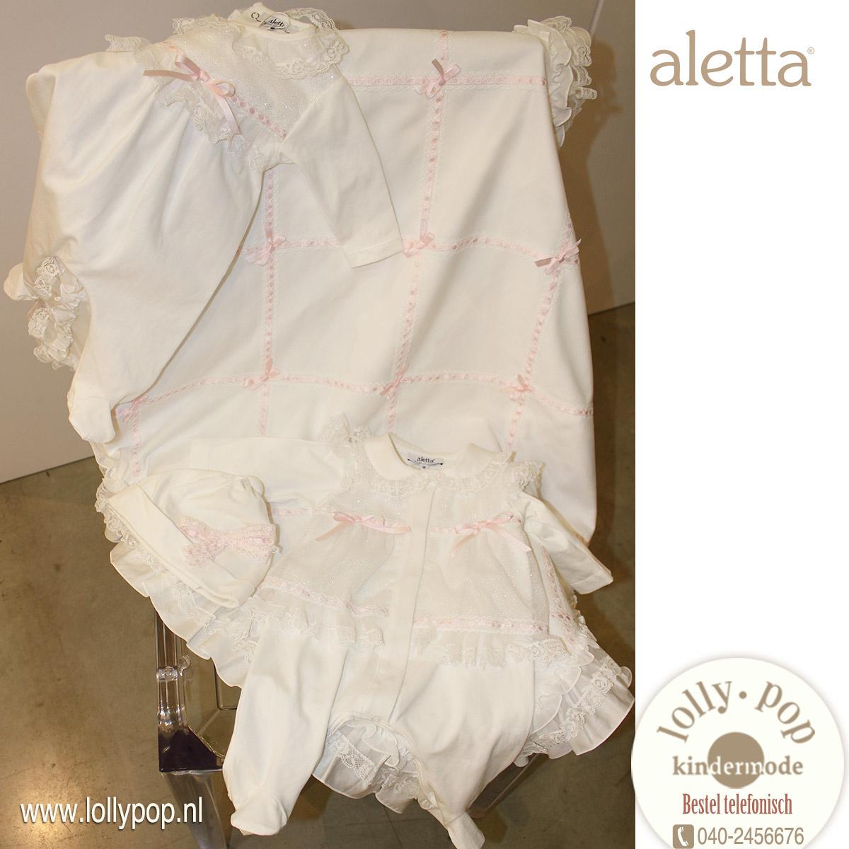 Aletta doopkleding bij Lolly Pop Kindermode