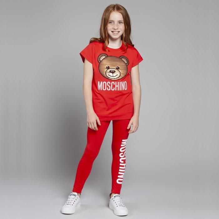 Moschino kids top and leggings