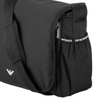 Changing bag with changing mat black